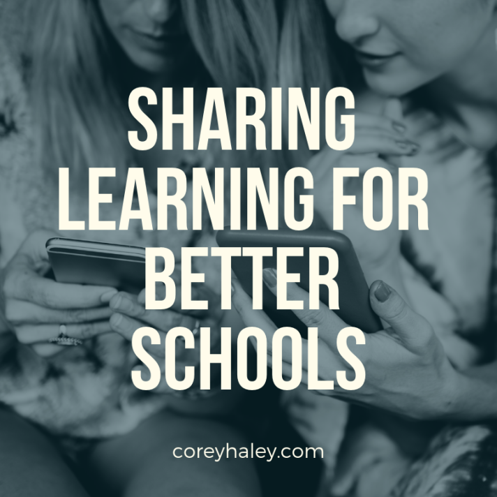 sharing learning for better schools